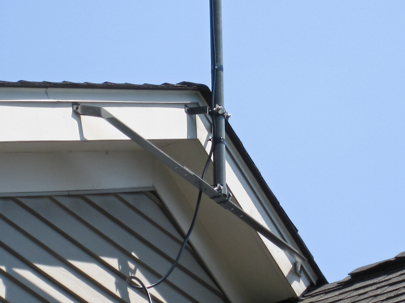 Military Mast And Arrow 146 440 J Pole Roof Gable Mount